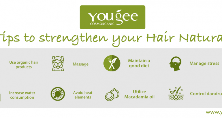 Strengthen your hair naturally