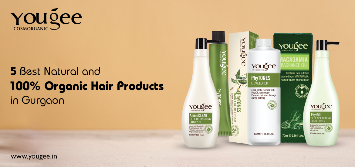 100% Organic Hair Products